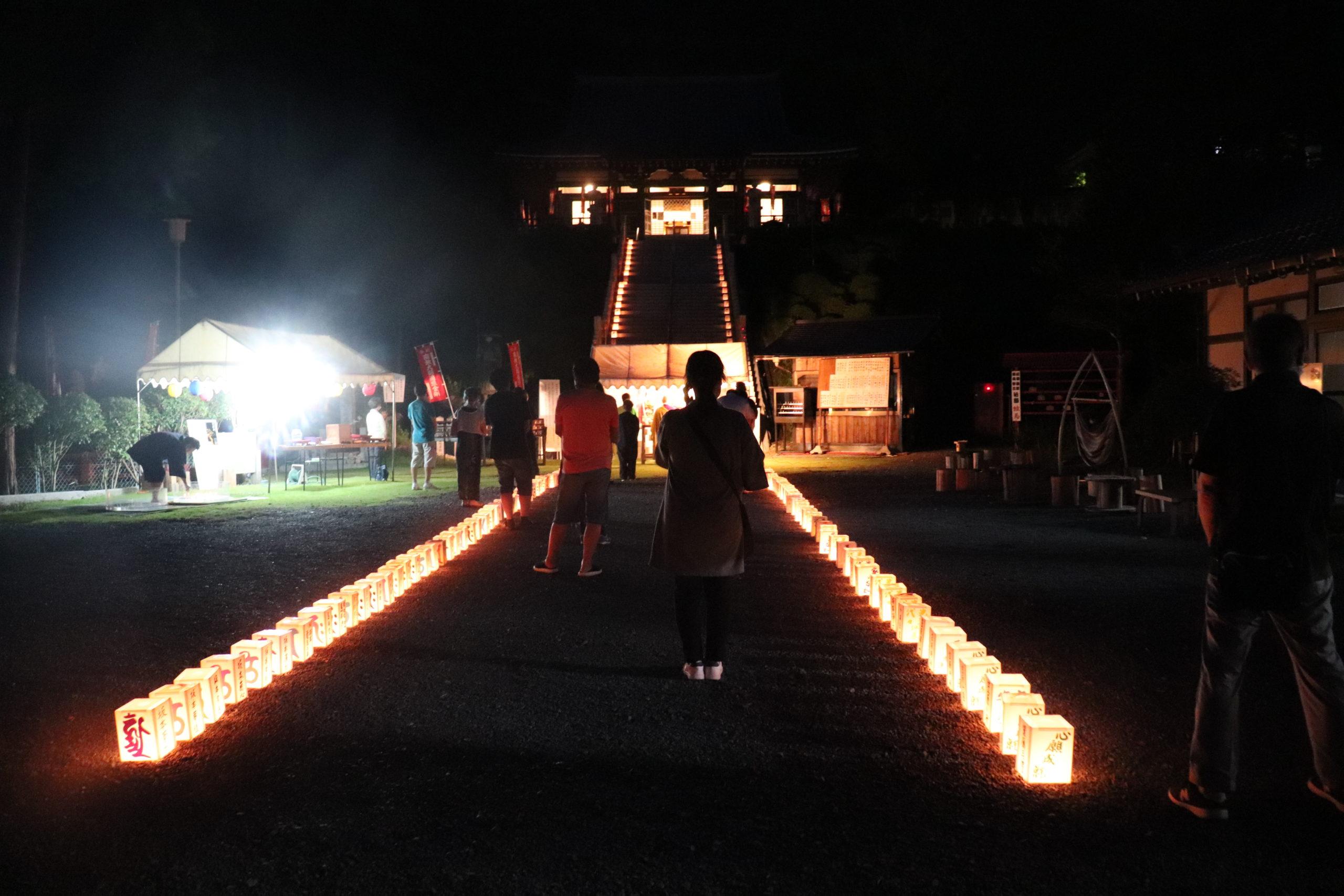 万霊供養の灯